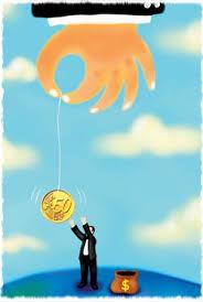Money stunts growth