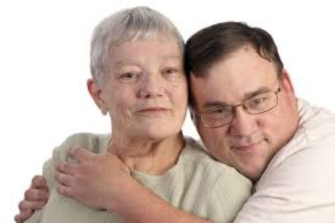 Aging parent with disabled child