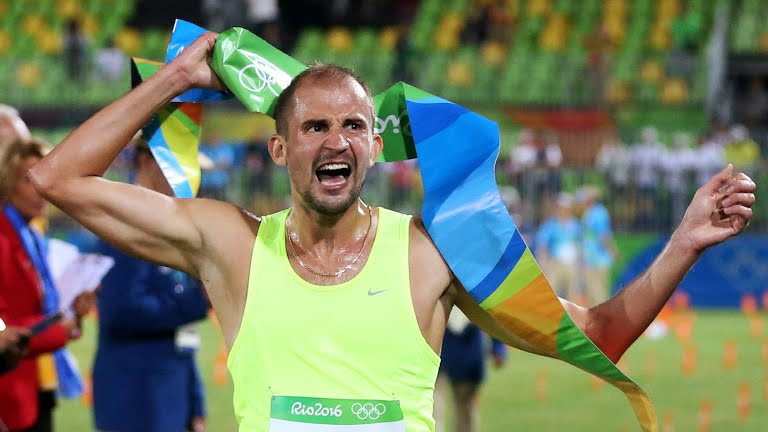 Russian gold medalist