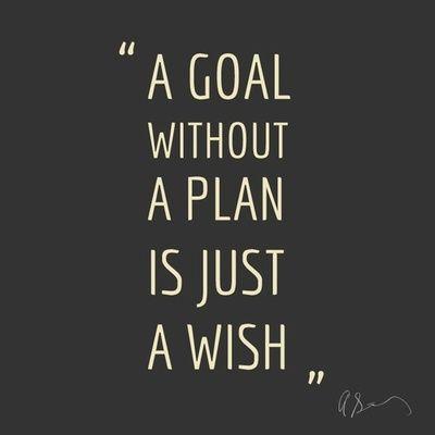 Goals vs plans