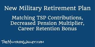 New military retirement