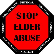 Elder abuse icon
