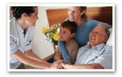 Family with elderly