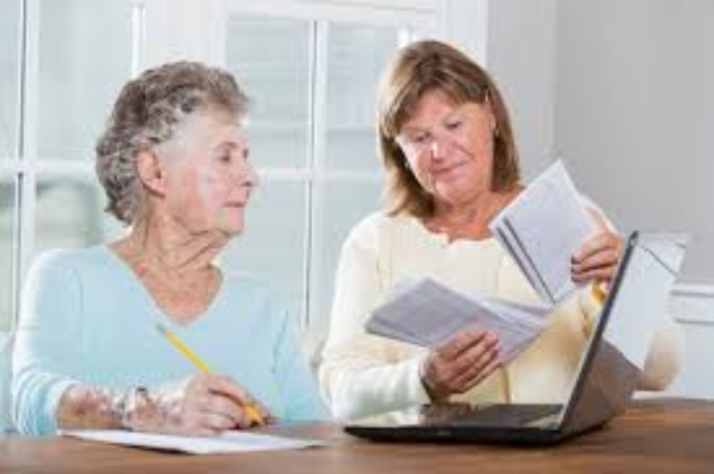 Assisting seniors with finances